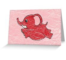Plumpy Elephant Greeting Card