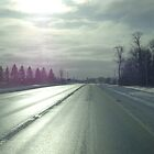 Sunshine on the Road by goddarb