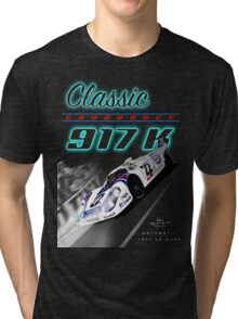 Classic Endurance Porsche 917K Tri-blend T-Shirt