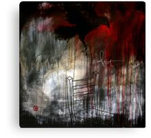 i don't sleep at night Canvas Print