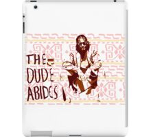 The Big Lebowski: Dude Abides iPad Case/Skin