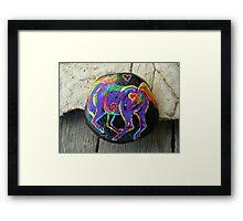 Rock 'N' Ponies - FREE SPIRIT PONY #4 Framed Print