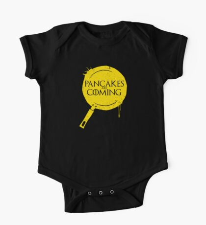 Pancakes Are Coming One Piece - Short Sleeve