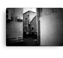 Behind James Street, Geelong Canvas Print