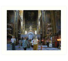 St Volodymyr's Cathedral, Kiev, Ukraine Art Print