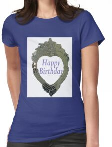 Hearty Happy Birthday Womens Fitted T-Shirt