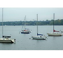 Wisconsin Sail Boats  Photographic Print