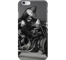Biker Bugs Bunny iPhone Case/Skin