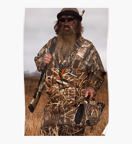 Phil Robertson The Duck Commander Poster