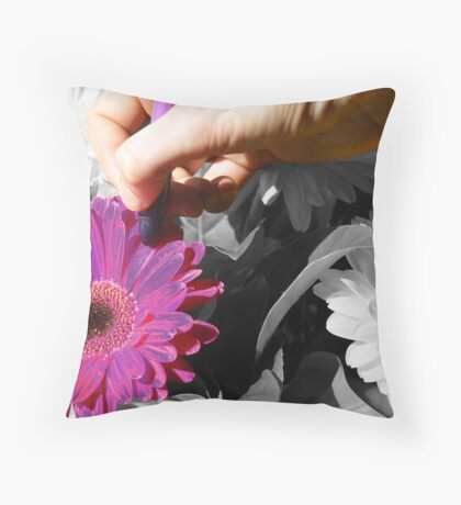 Colour In The World! Throw Pillow