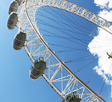 The London Eye by Calin Lapugean