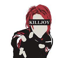 MCR- Gerard way Killjoy by wxnchester