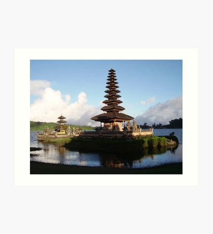 Ulan Danu Bali Indonesia Art Print
