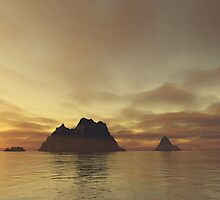 Tranquil Islands by Helen J Davies