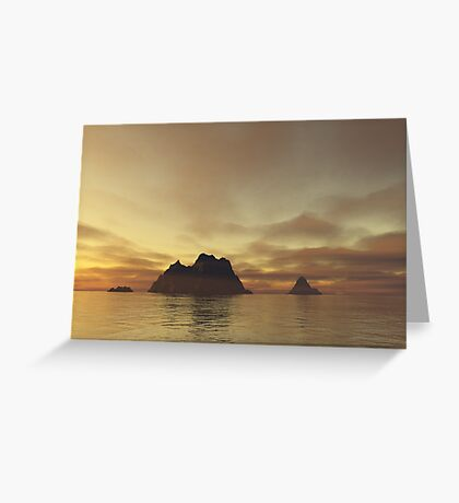 Tranquil Islands Greeting Card