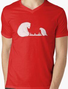 Winter Games Mens V-Neck T-Shirt