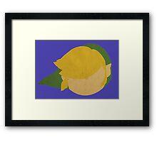 Legend of Zelda - Simplistic Link Framed Print