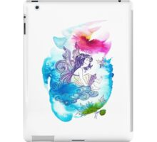 """""""With the Head in the Clouds"""" from the series: """"Angels of Protection"""" for Kids iPad Case/Skin"""