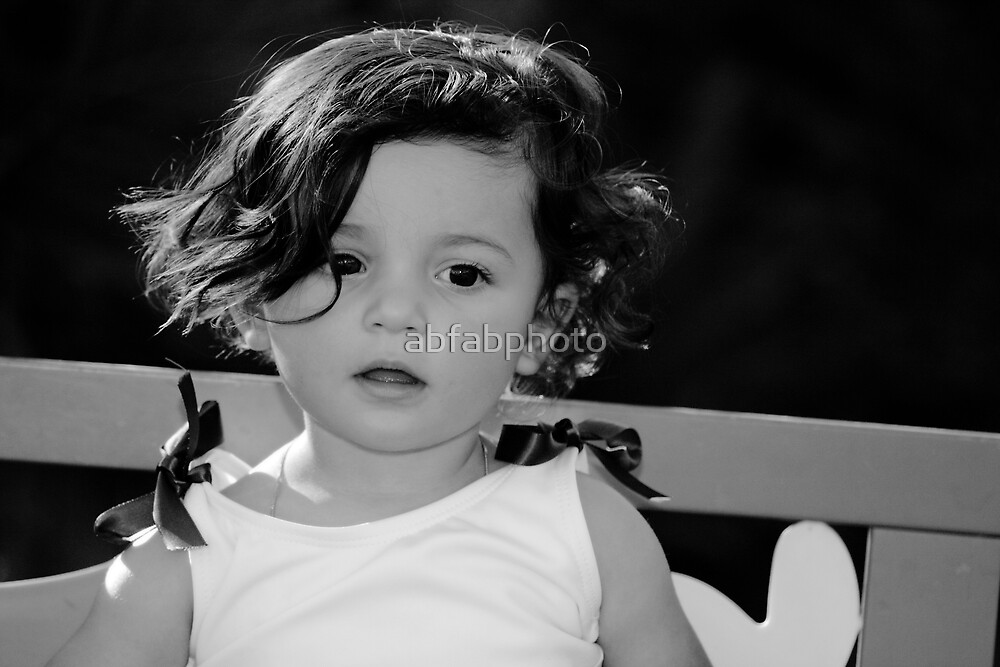 Black and White Angel by abfabphoto