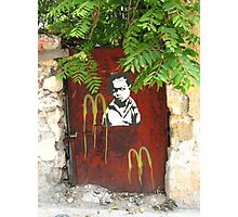 McDonalds Boy Photographic Print