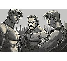 Final Fight - Characters  Photographic Print