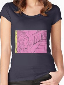 permission Women's Fitted Scoop T-Shirt