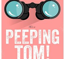 Cinema Obscura Series - Back to the future - Peeping Tom by Geoff Bloom