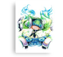 Chibi Kinetic DJ Sona Canvas Print