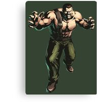 Final Fight - Mike Haggar  Canvas Print