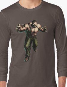 Final Fight - Mike Haggar  Long Sleeve T-Shirt