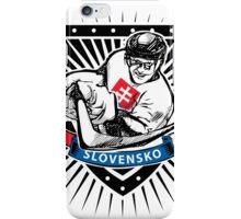 Slovakia ice hockey player shield iPhone Case/Skin