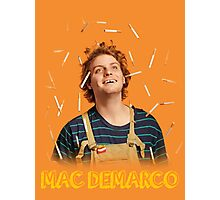 Mac Demarco - Love for his cigarettes!  Photographic Print