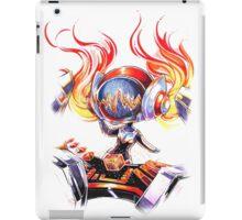 Chibi Concussion DJ Sona iPad Case/Skin