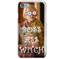 Boss Ass Witch Luna iPhone Case/Skin