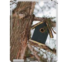 The little bird house iPad Case/Skin