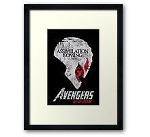 Ultron is Coming Framed Print