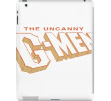 The Uncanny G-MEN iPad Case/Skin