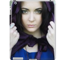 The Lady with the velvet cloak iPad Case/Skin