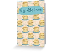 Happy Pancake Breakfast Greeting Card