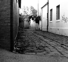 Alley, Fitzroy North by Josh Wayn