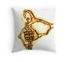 Hold me tightly Throw Pillow