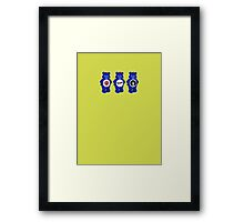 Punk Bears Framed Print