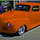 Competition Orange by Chet  King