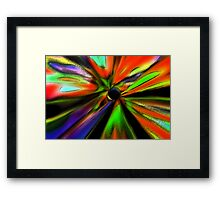 Colorized Wind Framed Print