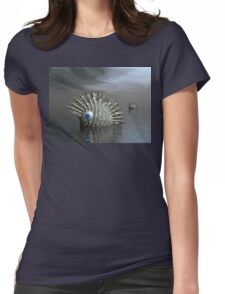 Seafood For Lunch Womens Fitted T-Shirt