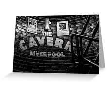 The Cavern Club, Liverpool Greeting Card