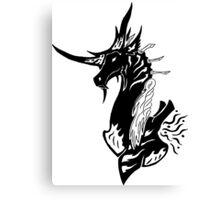 Atex the Dragon of Shadows Canvas Print