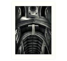 The Cross. Art Print
