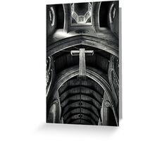 The Cross. Greeting Card