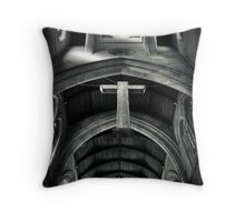 The Cross. Throw Pillow